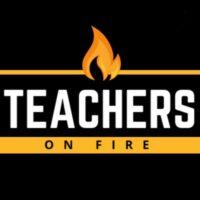 Teachers on Fire Logo - no Anchor Symbol